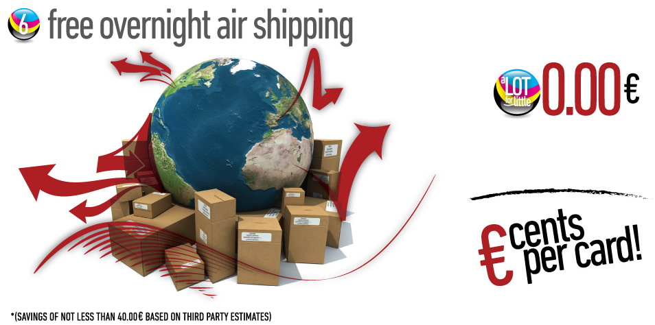 Free overnight air shipping
