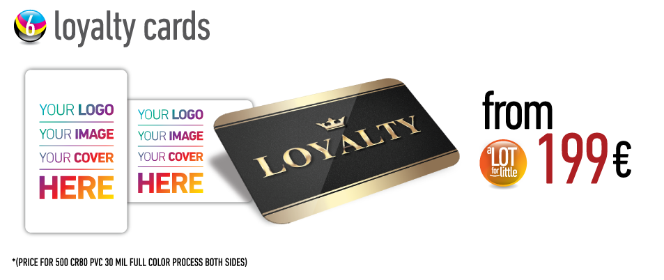 Loyalty cards - from €199