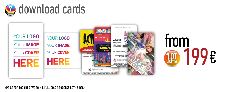 Download cards - from €199
