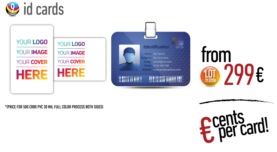 ID cards - from €229